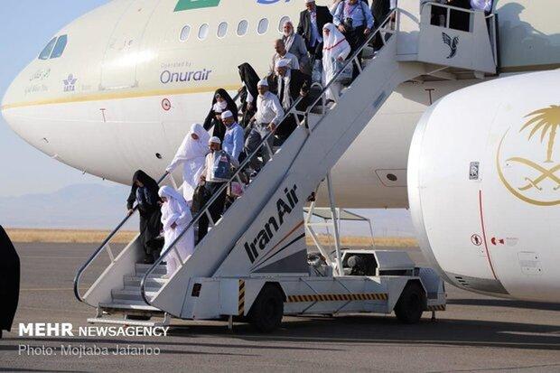 پایان عملیات بازگشت حجاج از فرودگاه بین المللی همدان