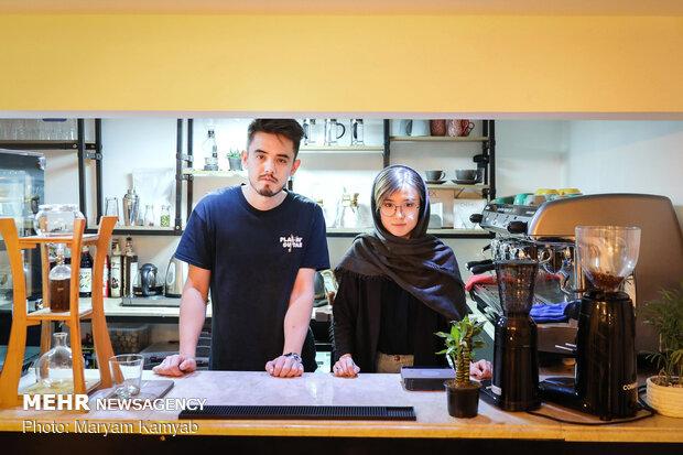 """""""كافه تلما""""؛ مقى خاص بالجالية الافغانية في العاصمة طهران"""
