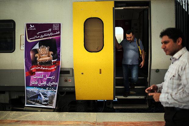 اولین قطار گردشگری ملایر