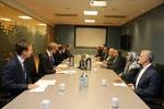ظریف کی ناورے کے وزیر خارجہ سے ملاقات
