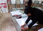 دانش آموزان دختر شیرازی راهی مرحله کشوری رقابت تجسمی تبریز شدند