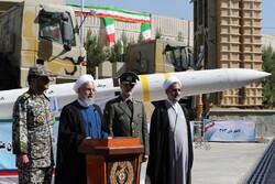 ایران نے صنعتی دن کی مناسبت سے باورمیزائل 373 کی رونمائی کی