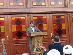 بازسازی مسجد جامع ساری با حضور وزیر راه افتتاح شد