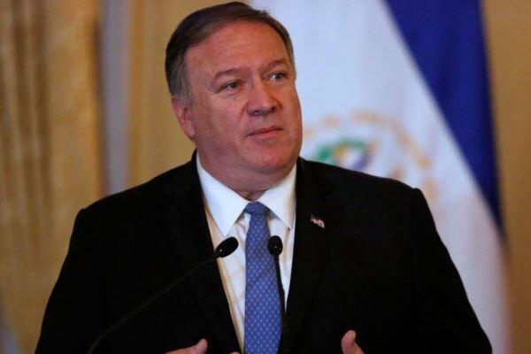 گفتگوی تلفنی پمپئو با رئیس جمهور عراق