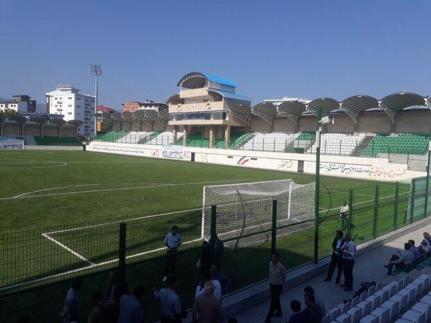 ساخت ۴ استادیوم ورزشی توسط بسیج سازندگی مازندران