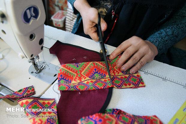 نمایشگاه دستاوردهای زنان سرپرست خانوار در بازارچه ابوذر برپا شد