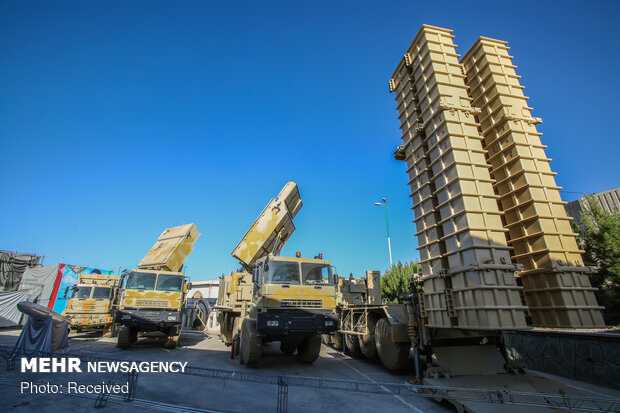 Authority of air defense shown to enemies in military drill
