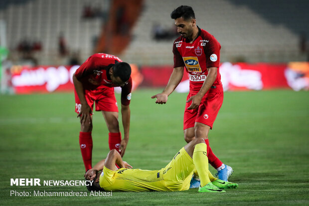 Perspolis vs Pars Jounibi Jam at IPL
