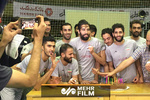 جشن تولد سید محمد موسوی در حاشیه تمرین تیم ملی والیبال