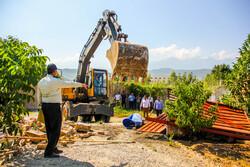هشت ویلای غیرمجاز در شهرستان فردیس تخریب شد