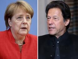 پاکستانی وزير اعظم کا جرمن چانسلرسے ٹیلی فونک رابطہ