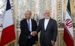 وزير الخارجية الايراني يلتقي نظيره الفرنسي في باريس