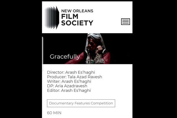 میزبانی جشنواره نیواورلئان آمریکا از مستند «خرامان»