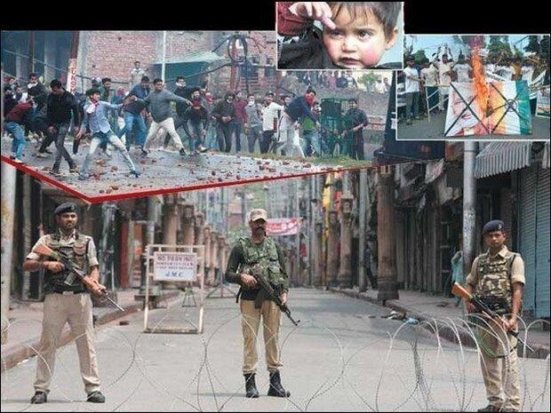 کشمیر میں گذشتہ 2 ماہ سے کرفیو نافذ اور مواصلاتی نظام معطل