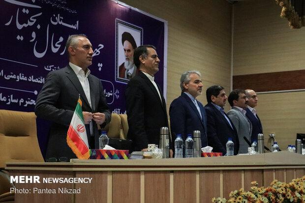 سفر  محمدباقر نوبخت معاون رئیس جمهور به چهار محال و بختیاری