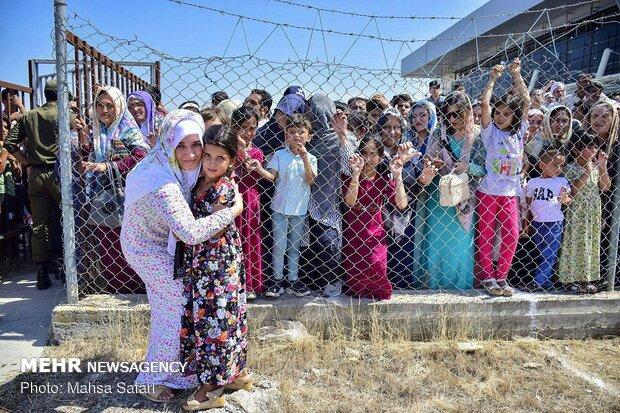 Türkmensahra'nın hacı kafilesi yurda döndü