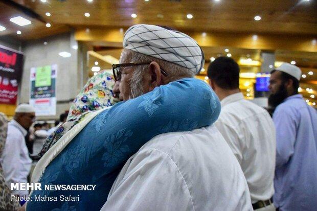Return of Golestan Province's Hajis