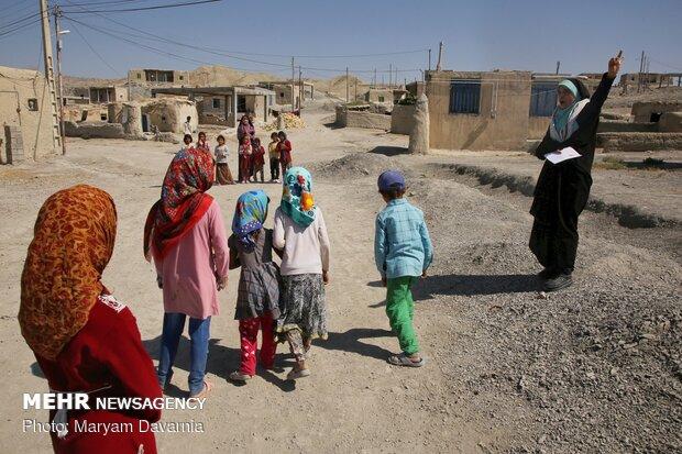 فصل داغ اردوهای جهادی در روستاهای محروم خراسان شمالی