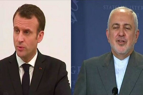 French president, Iranian FM discuss EU's JCPOA commitments in Paris