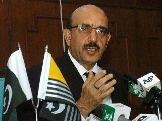 کشمیر پر حملہ پاکستان پر حملہ ہے