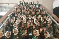 کاروان ایران در مسابقات جهانی پیوند اعضا سوم شد