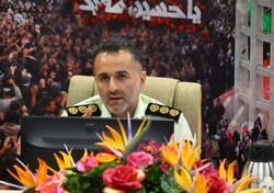 خدمات رسانی بیش از ۱۶۰ پلیس زنجان به زائران اربعین