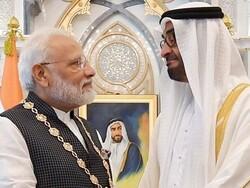 مودی کا کشمیر کے بارے میں بھارتی مؤقف کی حمایت پر امارات کا شکریہ