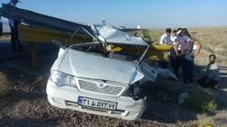 تصادف در زنجان ۲ کشته و یک مصدوم برجای گذاشت