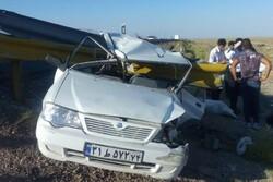 تصادف در محور ایلام- کوهدشت ۳ کشته و ۷ مجروح برجای گذاشت