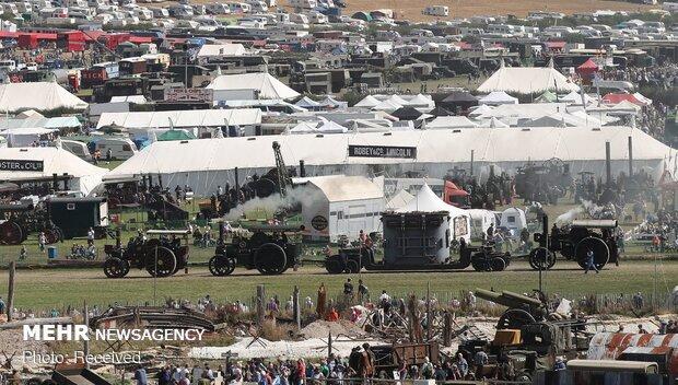 جشنواره ماشین های بخار در انگلیس