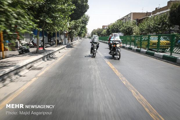 کاهش ۳ درصدی مرگ موتورسواران در حوادث ترافیکی مازندران