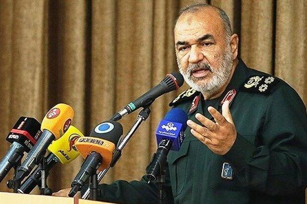 قائد الحرس الثوري يدعو لتوفير أرضية للتغلب على الحرب تجنبا للحرب نفسها