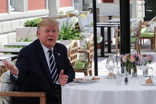 ترامپ سفر خود به لهستان را لغو کرد
