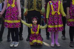 آغاز به کار چهاردهمین جشنواره تئاتر خیابانی مریوان