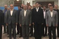 وزیر نیرو با آرمان های امام تجدید میثاق کرد