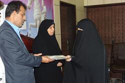 حافظان کل قرآن کریم در شهرستان دشتی تجلیل شدند