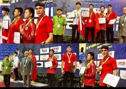 استقبال از ووشوکار نهاوندی دارنده مدال برنز آسیایی باحضور مسئولان