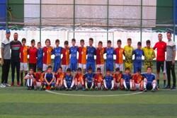 پیروزی فوتبالیستهای نوجوان اردبیل مقابل نماینده جمهوری آذربایجان