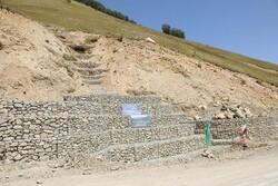 اجرای عملیات آبخیزداری از محل اعتبارات ارزش افزوده در پاکدشت