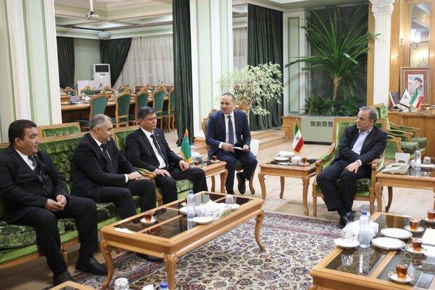 Türkmenistan ile ticari ilişkileri geliştirmeye hazırız