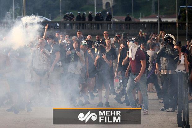 Fransa'da G7 Zirvesi karşıtı gösteri