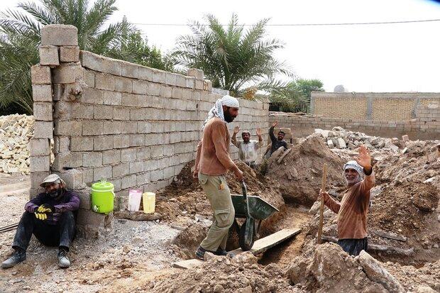 جهادگران به کمک اهالی«شعیبیه»رفتند/ فارسی ها درکنار سیل زدگان