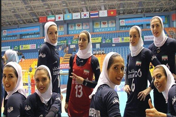 بانوان والیبالیست ایران با شکست اندونزی هفتم شدند