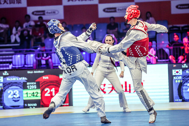 Iran's mixed team wins silver at 2019 WT World Cup Team C'ships