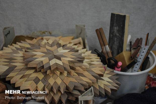 احیای هنر سنتی گره چینی در استان مرکزی