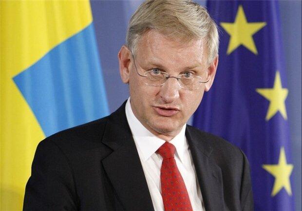 واکنش سیاستمدارسوئدی به حضورظریف در جی۷: اتفاقی درحال رخ دادن است
