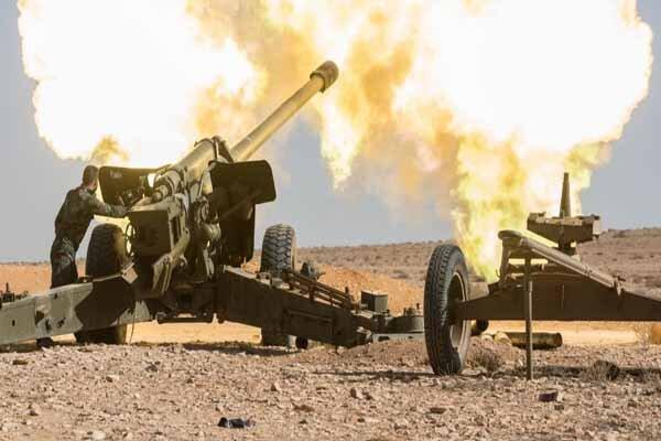 درگیری شدید ارتش سوریه با تروریستها در درعا