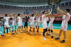 Sadaat leads Iran to three-set win over strong Cuba
