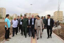 ۲ پارک محله ای به مناسبت هفته دولت در تبریز افتتاح شد