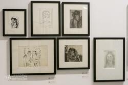 نمایشگاه طراحیهای سیاوش روشندل در خانه هنرمندان ایران